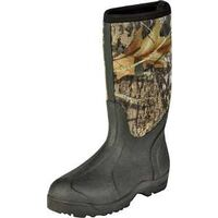 Break Up Sole High Boots, Size 10 Mossy Oak