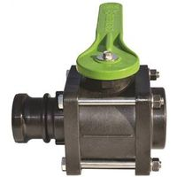 VALVE BALL 4 BOLT 2IN F NPTXM