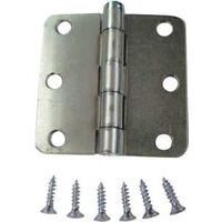 "Screen Door Hinge, 3"" x 3"" Zinc"