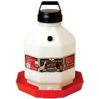 LITTLE GIANT PPF5 5 GALLON PLASTIC POULTRY FOUNTAIN
