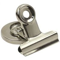 CLIPS MAGNETIC STEEL CHROME