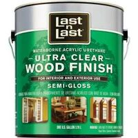 Ultra Clear Wood Finish, Semi Gloss, Gal