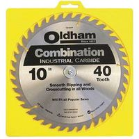 Oldham 10040TP Combination Circular Saw Blade