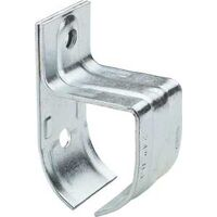 SINGLE ROUND RAIL BRACKET ZINC
