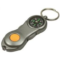 KEY CHAINS COMPASS W/LED LIGHT