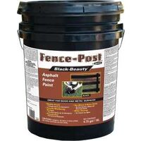 PAINT FENCEPOST LATEX BLACK 5G