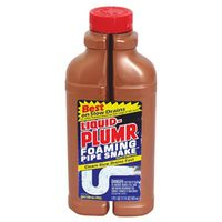 Liquid-Plumr Foaming Pipe Snake 00216 Clog Remover