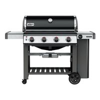 GRILL LP BLK 4 BURNER 646SQ IN