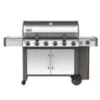 GRILL LP SS 6-BURNER W/SIDE