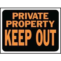 Private Propert Keep Out Sign