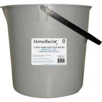 Round Bucket with Handle, 10 Qt