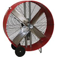 Maxxair BF48BDRED Belt Drive Portable Barrel Fan