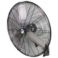Heavy Duty Oscillating Wall Mount Fan, 30""