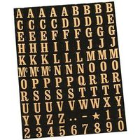 Hy-Ko MM-1 Number and Letter Set