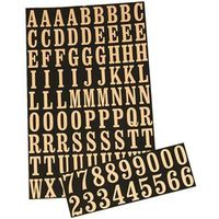 Hy-Ko MM-2 Number and Letter Set