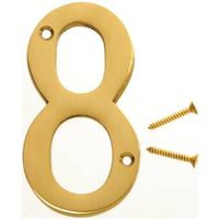 Hy-Ko BR 3-D Decorative House Number