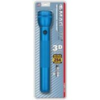 Maglite Flashlight, 3D Blue