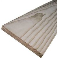 American Wood PCLR1X3-6 4-Sided Sanded Common Board