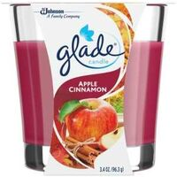 Glade Candle, 4 oz  Apple Cinamon