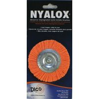 Nyalox 541-777-3 Medium Mounted Wheel Brush