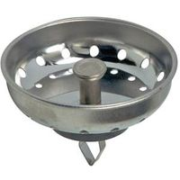 STRAINER BASKET 3-1/4IN CHROME