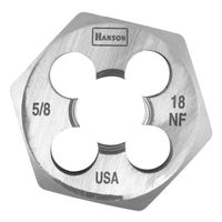 Hanson 6854 Machine Screw Hexagonal Die
