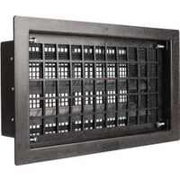 "Foundation Vent, 16"" x 8"" Black"