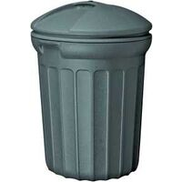 Rough & Rugged Trash Can with Snap On Lid, 26 Gal