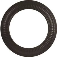 0366716 - 6IN BLACK STOVE PIPE COLLAR