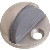"Floor Doorstop, 1/4"" Stainless Steel"