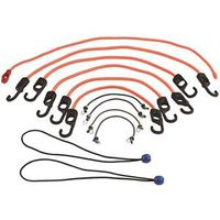 CORDS BUNGEE ASSORTMENT 12PK