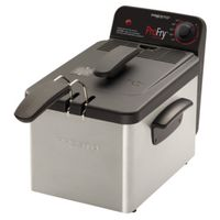 National Presto 05462/05460 Pro Fry Electric Immersion Deep Fryers