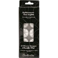 TEALIGHTS 10PK WHITE
