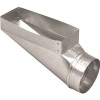 DUCT END BOOT 3-1/4 X 10 X 6IN