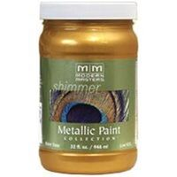 Modern Masters Metallic Paint, 1 Qt Olympic Gold