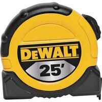 "Dewalt Tape Measure, 1 1/8"" x 25'"