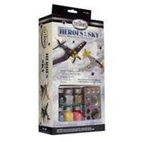 Heroes of the Sky Model Airplane Kit, 1:72 Scale