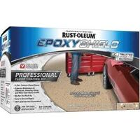Epoxy Shield Pro Floor Kit, Semi-Gloss Dunes Tan