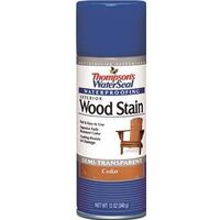 Exterior Wood Stain Spray, 12 oz Cedar