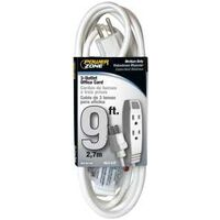 CORD EXT WHITE 3OUT 9FT OFFICE
