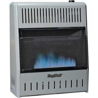 Dual Fuel Vent Free Blue Flame Wall Heater, 20,000 Btu