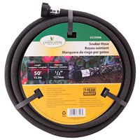 1/2 inch by 50 foot soaker hose