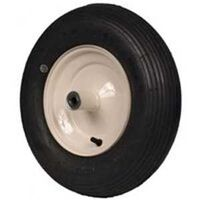 "Pneumatic Lawn Mower Wheel, 6"" x 5/8"""