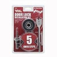 Kwikset 130WDCP Security Lock Install Kits