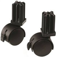 CASTERS GRILL 2 PIECE WEBR 7IN