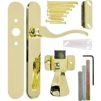 Serenade Lever Lockset, Polished Brass