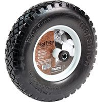 Arnold 00047 Flat Free Knobby Wheelbarrow Tire