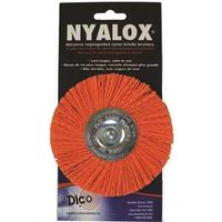 Nyalox 541-778--4 Medium Mounted Wheel Brush