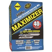 Concrete Mix, maximizer, 40 lb