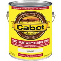 Cabot 1800 Solid Color Acrylic Deck Stain